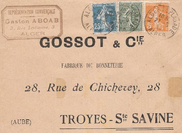 tarif du courrier selon poids